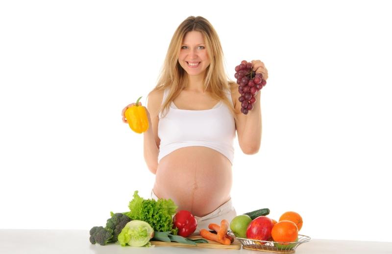 Продукты которые полезны будущим мамам
