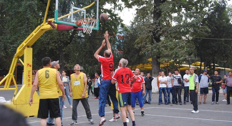 Баскетбол для гипертоников