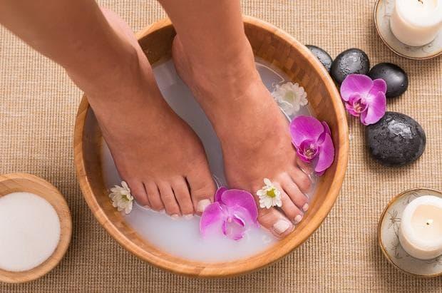 Лекарственные ванночки для ног