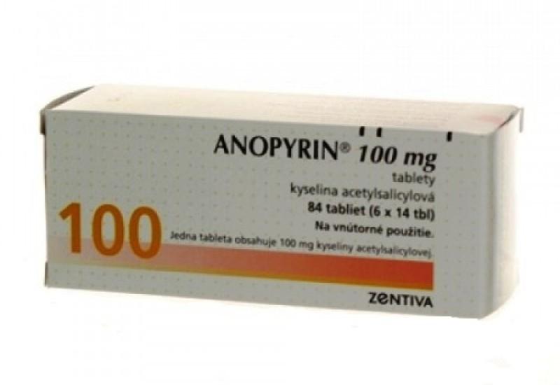 Таблетированная форма Аноприна