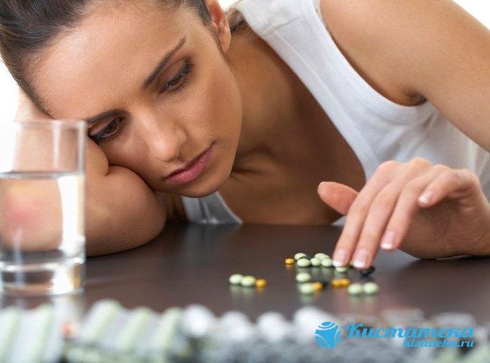 При инфекционны заболевания неободим прием антибактериальны средств, при проблема с гормонами - гормональны препаратов, в том числе противозачаточны средств