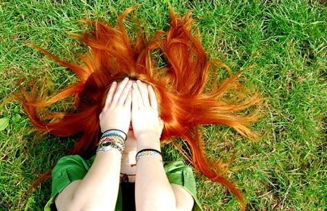 почему у ребенка рыжие волосы