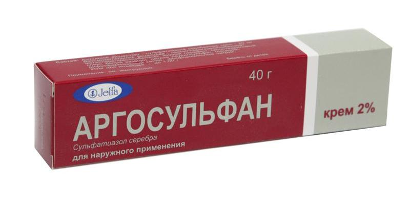 Фармакологическое действие Аргосульфана