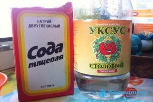 орошо помогает при опуоли сода и уксус