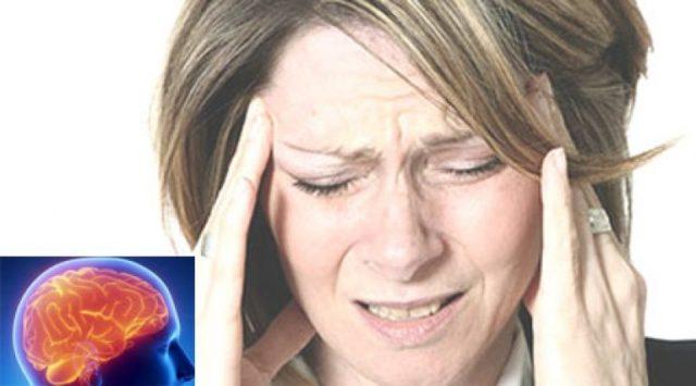 Такой характер головной боли появляется в результате раздражения рецепторов твердой оболочки мозга и внутричерепных сосудов