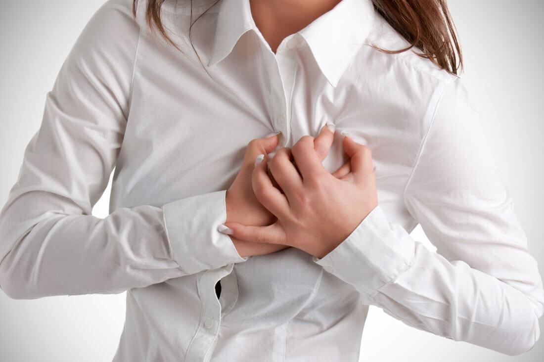 Боль и дискомфорт в грудной клетке