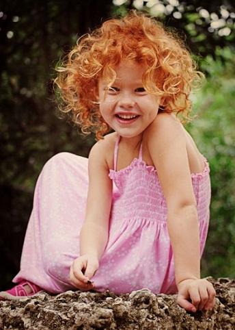 Какая вероятность рыжего цвета волос ребенка?