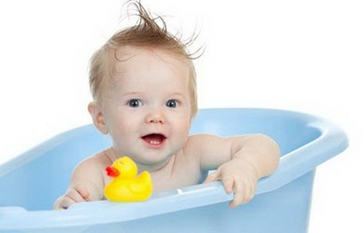 Первые волосы ребенка