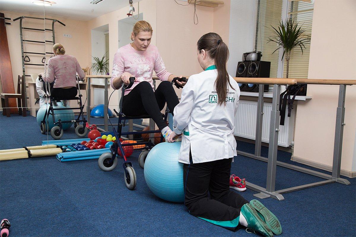 Тренировка подбирается, исходя из степени тяжести заболевания