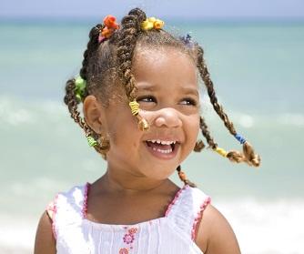 какую прическу сделать ребенку на короткие волосы