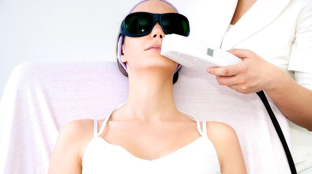 Лазерная эпиляция области верхней губы