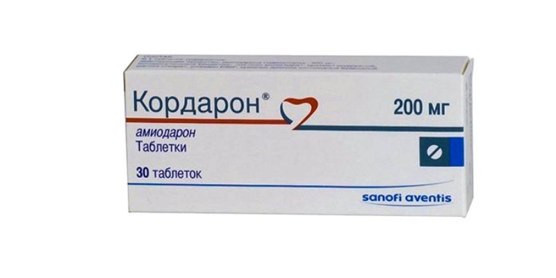 Кардарон - препарат от сердцебиения