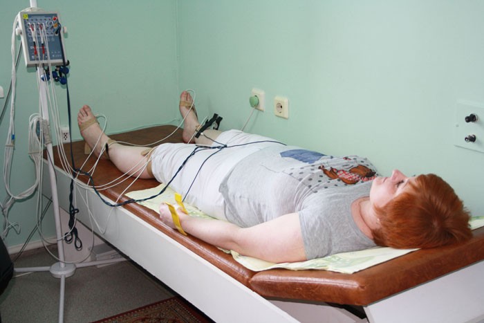 Как проводится процедура реовазография нижних конечностей