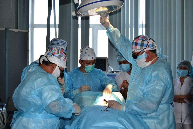 Работа врача-ангиохирурга