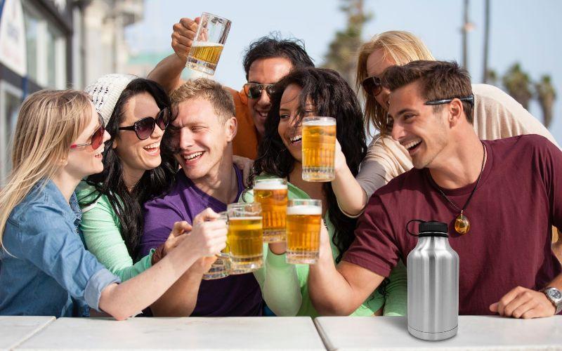 Такие веселые пьянки могут привести к развитию гипертонического заболевания