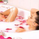 Горячая ванна для распаривания кожи перед эпиляцией