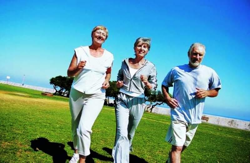 Пробежки полезны в любом возрасте