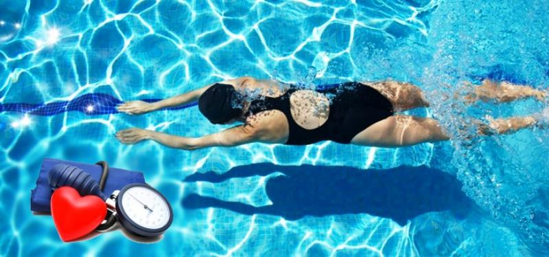 Плавание один из лучших видов спорта для гипертоников