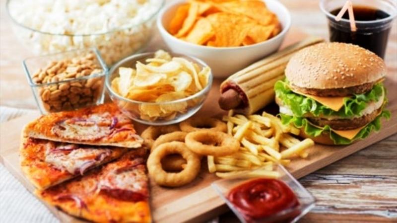 Вредные продукты из фаст-фуда