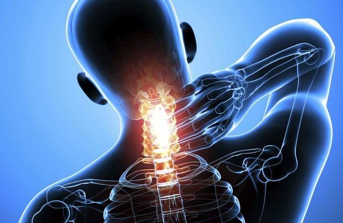 боль в шейном отделе при остеохондрозе