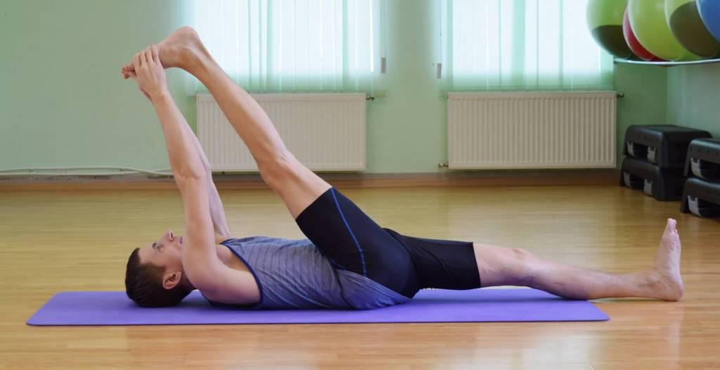 Поза йоги при лечении варикоза