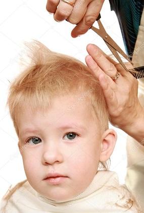 Как стричь волосы ребенку ножницами