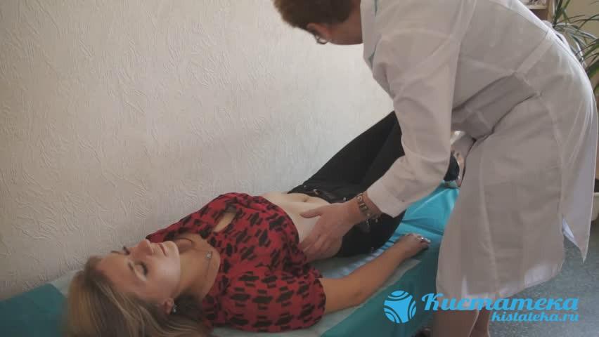 Если уплотнение уже можно прощупать пальцем, то гинеколог сможет выявить его на плановом осмотре