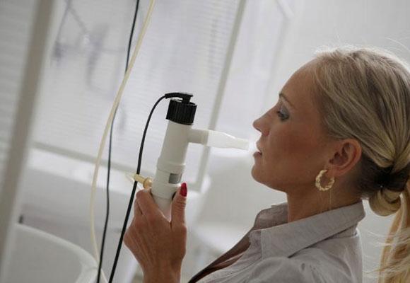 Применение ингалятора для лечения