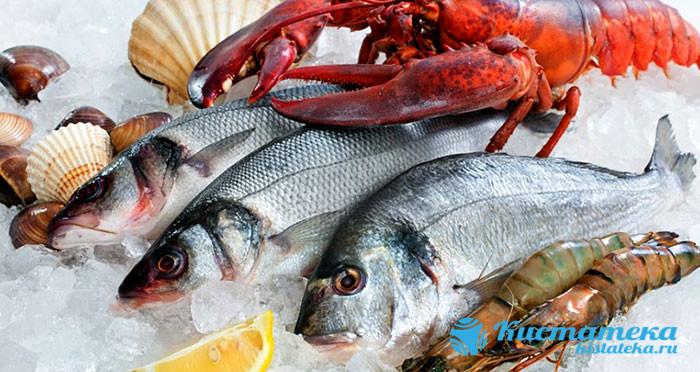 Следует питаться рыбой и морепродуктами