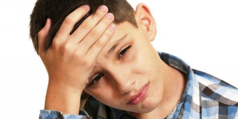 Проявление ВСД у подростка