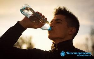 Рекомендуется обильное питье