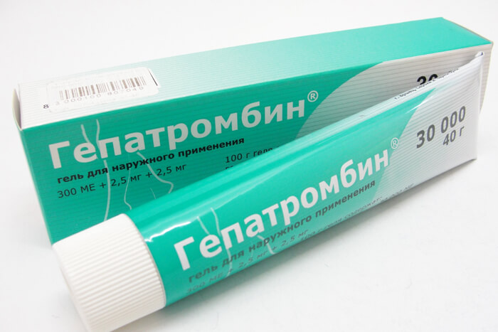 Принцип действия «Гепатромбина»