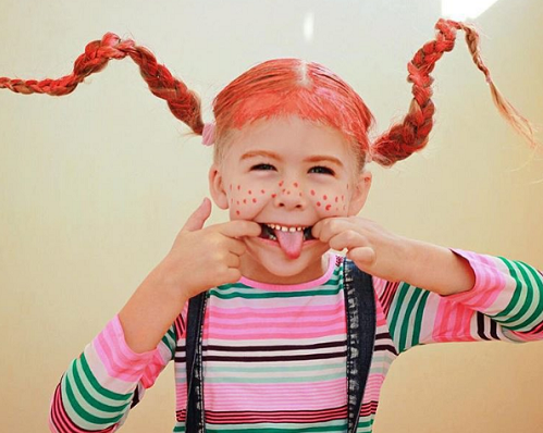 Рыжий цвет волос у ребенка