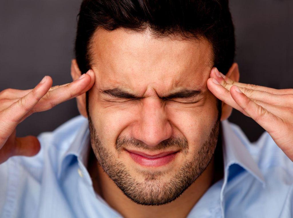 Признаки начинающегося недостатка кровоснабжения участка мозга