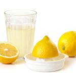 Сок лимона для приготовления пасты