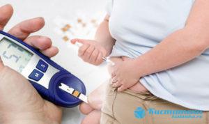 К частым симптомам относят диабет