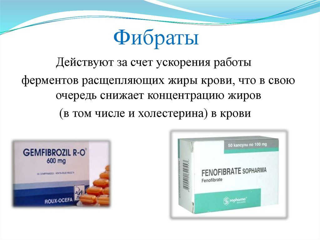 Фибраты назначают пациентам, которые не могут соблюдать диетическое питание