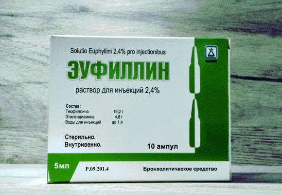 Лекарственный препарат Эуфиллин