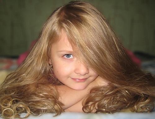 Маска для роста волос у детей