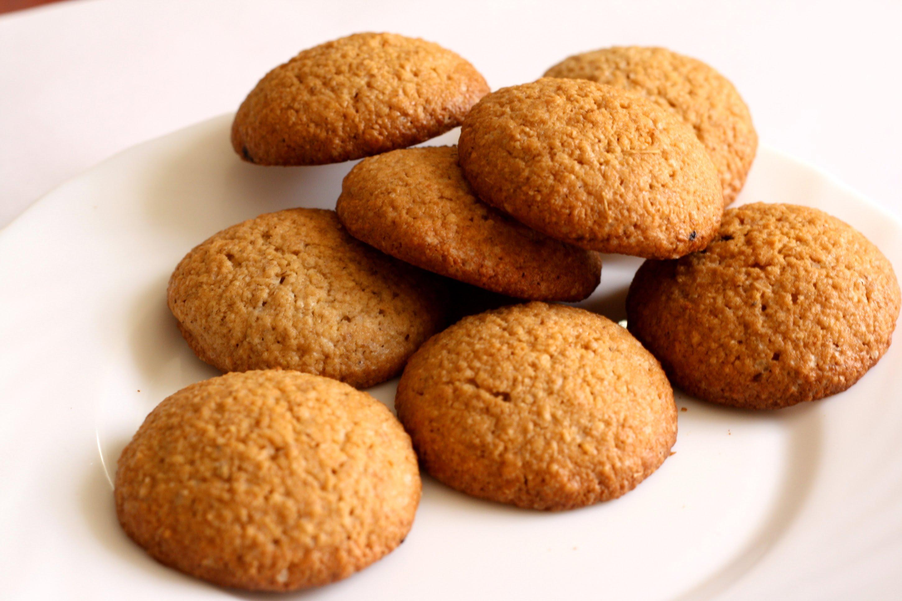 Для организма полезно овсяное печенье