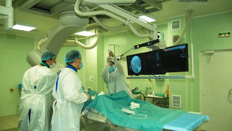 Процедура ангиографии