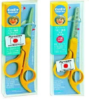 ножницы для стрижки волос ребенка