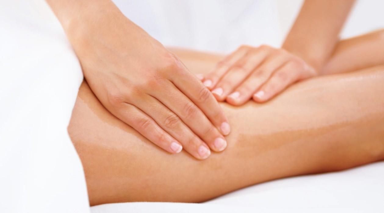 Лимфодренажный массаж нижних конечностей