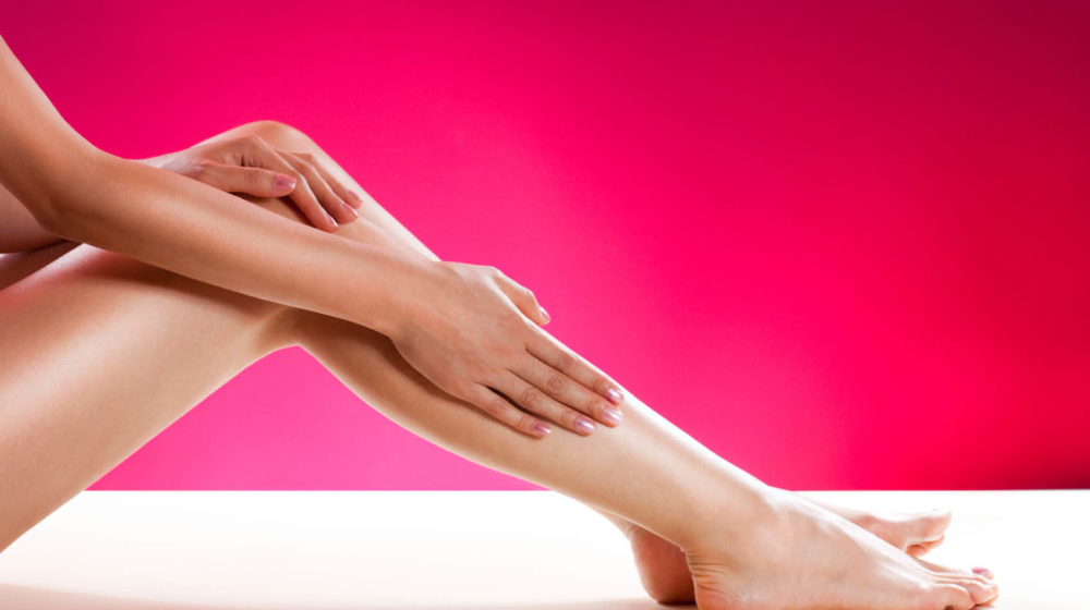 Ноги после эпиляции
