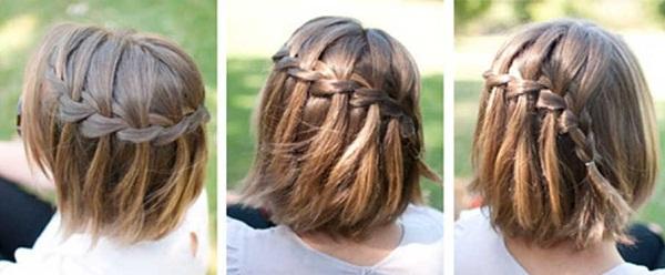 Прически на короткие волосы детям в садик