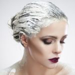 Укрепление волос питательными масками перед осветлением