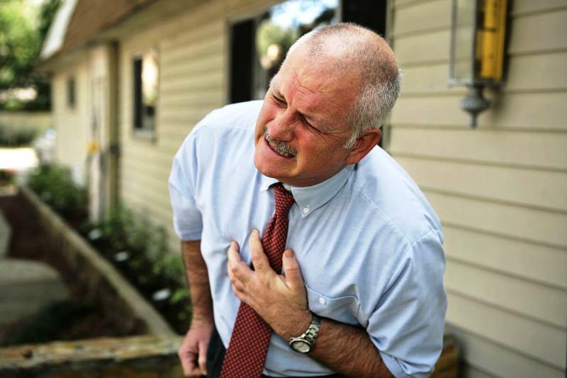 Жгучая сердечная боль
