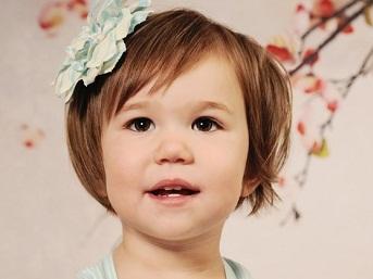 красивые прически для детей на короткие волосы