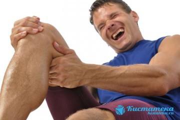 Разрыв кисты в коленном суставе вызывает сильную боль