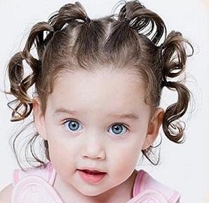простые прически на короткие волосы детей
